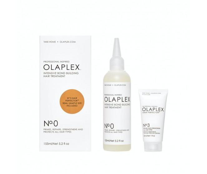 Olaplex No. 0 Intensive Bond Building Hair Treatment 155 ml + No. 3 Hair Perfector 30 ml