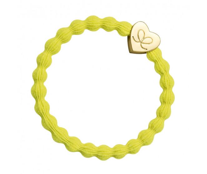 By Eloise London Gold Heart Sunshine Yellow