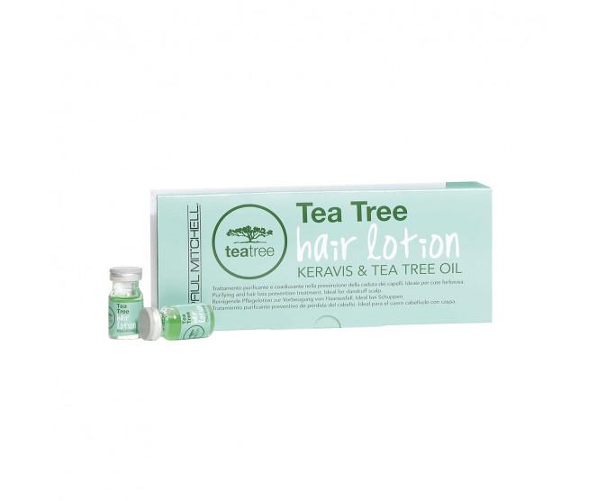 Paul Mitchell Tea Tree Hair Lotion Keravis & Tea Tree Oil 12 x 6 ml