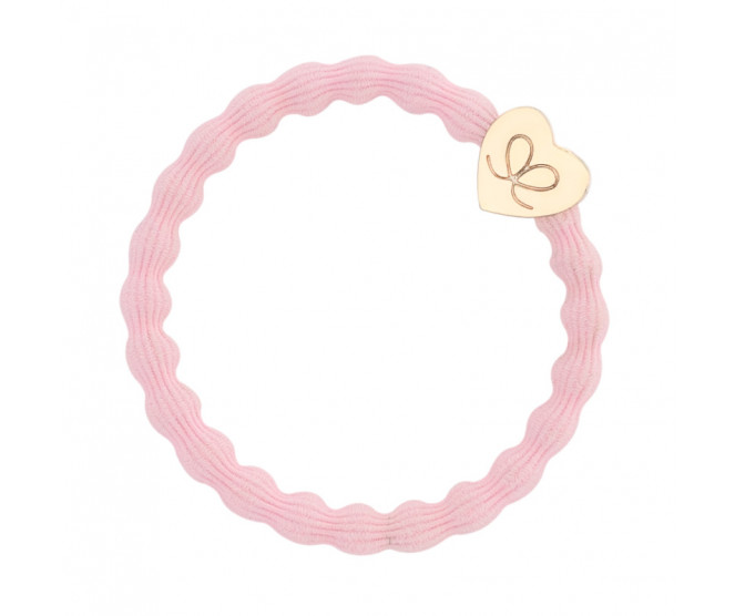 By Eloise London Gold Heart Soft Pink