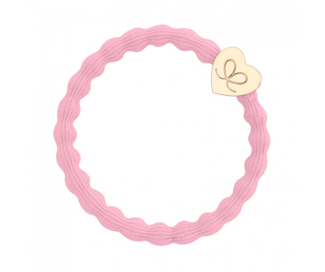 By Eloise London Gold Heart Ballet Pink
