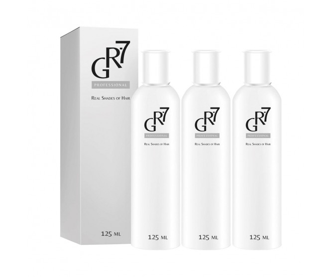GR-7 Professional Real Shades of Hair 3× 125 ml