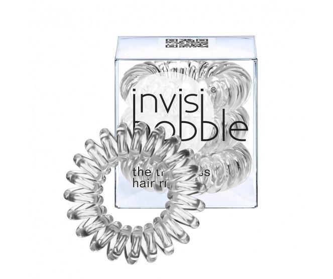 Invisibobble ORIGINAL gumička do vlasů Crystal Clear - průhledná 3 ks