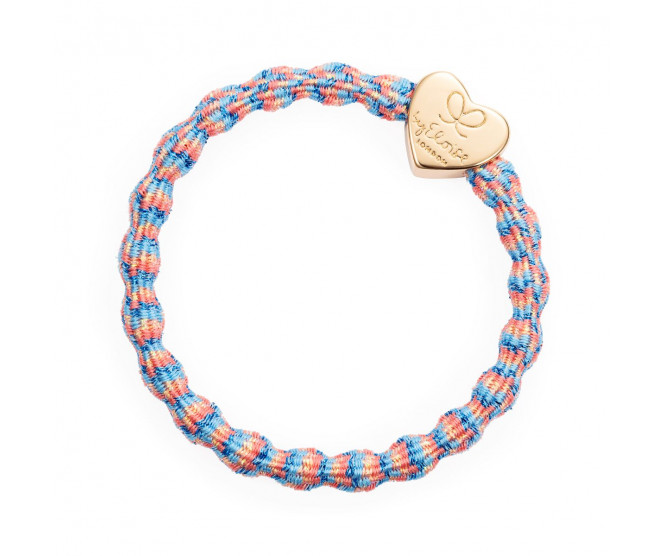 By Eloise London Metallic Gold Heart Coral Reef