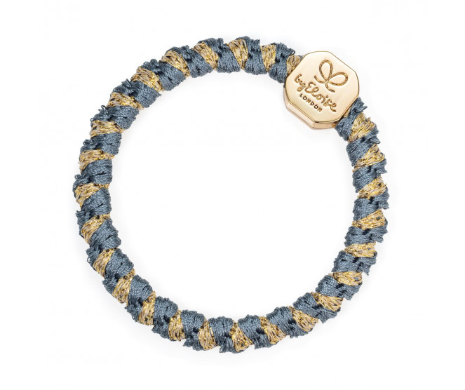 By Eloise London Gold Nugget Woven Azure