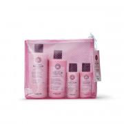Maria Nila Luminous Color Shampoo 350 ml + 100 ml + Conditioner 300 ml + 100 ml + kosmetická taška