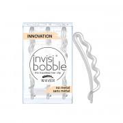 Invisibobble WAVER sponka do vlasů Crystal Clear - průhledná 3 ks