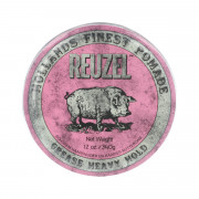 REUZEL Styling Pink Pomade Grease Heavy Hold 340 g