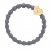 By Eloise London Gold Heart Storm Grey