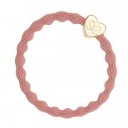 By Eloise London Gold Heart Champagne Pink