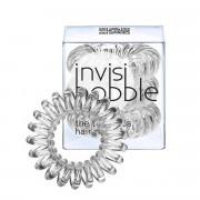 Invisibobble gumička do vlasů Crystal Clear - průhledná 3 ks