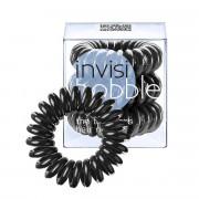 Invisibobble gumička do vlasů True Black - černá 3 ks