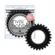 Invisibobble POWER gumička do vlasů True Black - černá 3 ks