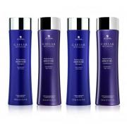 Alterna Caviar Replenishing Moisture Shampoo 2× 250 ml + Conditioner 2× 250 ml