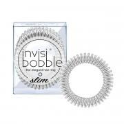 Invisibobble Slim gumička do vlasů Chrome Sweet Chrome - stříbrná 3 ks