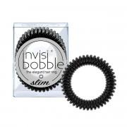 Invisibobble Slim gumička do vlasů True Black - černá 3 ks