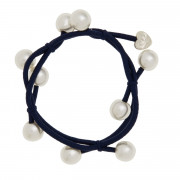By Eloise London Pearl Cluster Navy Blue